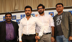 Si - 3 movie Screening at Dubai - Pictures