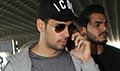 Sidharth Malhotra snapped as he leaves to promote his film A Gentleman in Pune