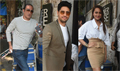Sidharth,  Sonakshi and Akshaye Khanna snapped at Ittefaq promotions