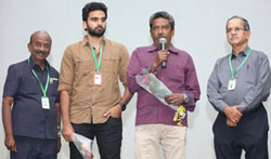 Sila Samayangalil Movie Team at 14th Chennai International Film Festival - Pictures