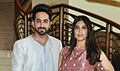Ayushmann Khurrana and Bhumi Pednekar launch the first look of Shubh Mangal Saavdhan