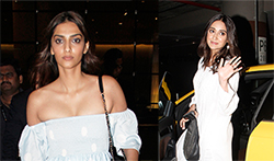 Sonam Kapoor and Ileana D'Cruz snapped in Bandra - Pictures