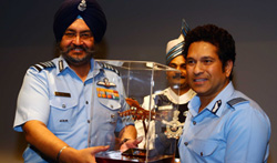 Special Screening of 'Sachin A Billion Dreams' held for Indian Armed Forces personnel - Pictures