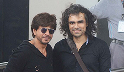 Shah Rukh Khan and Imtiaz Ali snapped leaving to promote their film Jab Harry Met Sejal - Pictures