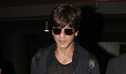 Shah Rukh Khan returns from Los Angeles - Pictures