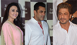Shah Rukh Khan and Salman Khan grace Baba Siddique's Iftaar party - Pictures
