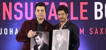 Shah Rukh Khan unveils Karan Johar's book 'An Unsuitable Boy'