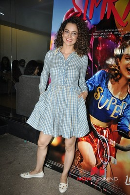 Special Screening of Simran at Sunny Super Sound