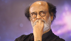Superstar Rajinikanth meets fans after 8 years - Pictures