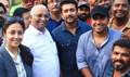 Suriya and Jyothika visit the sets of Nivin Pauly's Kayamkulam Kochunni