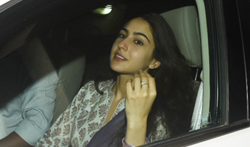 Sushant Singh Rajput and Sara Ali Khan snapped outside Abhishek Kapoor's office - Pictures