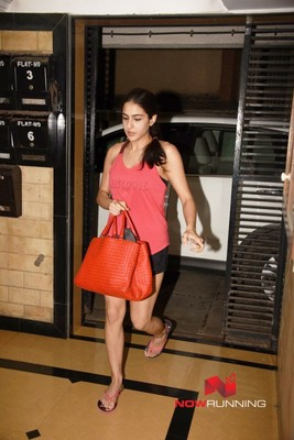 Snapped at Abhishek Kapoor office in Bandra
