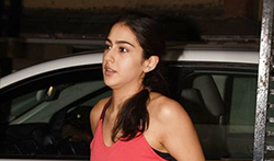 Sushant Singh Rajput and Sara Ali Khan snapped at Abhishek Kapoor office in Bandra - Pictures