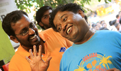 Theru Naaigal Movie Working Stills  - Pictures