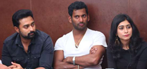 Thupparivaalan Team LIVE Chat with Fans
