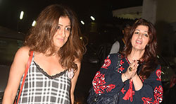Twinkle Khanna snapped with friends post movie at PVR Juhu - Pictures