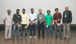 Uriyadi Team at 14th Chennai International Film Festival - Pictures