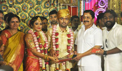 Vaagai Chandrasekar daughter marriage - Pictures