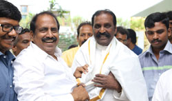 Vairamuthu at Thiruvalluvar Statue - Pictures