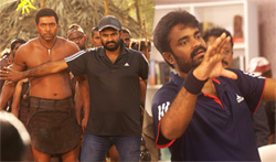 Vanamagan Shooting Spot - Pictures