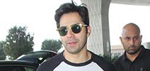 Varun Dhawan snapped at the airport