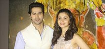 Varun Dhawan and Alia Bhatt grace the music launch of the Marathi movie Bikhari