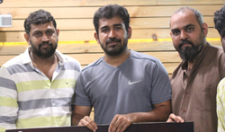 Vijay Antony Appreciated Theru Naigal Team - Pictures