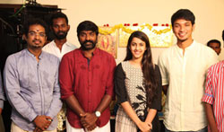 Vijay Sethupathi Gautham Karthik untitled Film Launch - Pictures