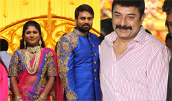 FEFSI Vijayan Master Son's Wedding Reception - Pictures