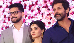 Vikram Daughter's Reception Photos - Pictures