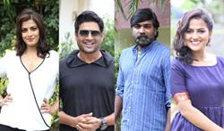 Vikram Vedha Press Meet - Pictures