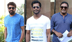 Vishal's Team filed their nominations for Producer Council Elections - Pictures