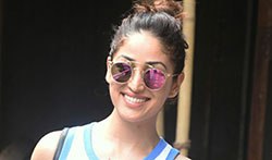 Yami Gautam snapped post a meeting in Bandra - Pictures