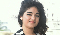 Zaira Wasim snapped at Secret Superstar promotions - Pictures