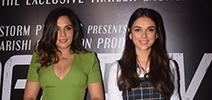 Aditi Rao Hydari, Richa Chadda snapped at Daas Dev trailer launch