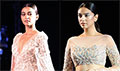 Aditi Rao Hydari and Radhika Apte walk the ramp for Manish Malhotra's Summer Couture 2018
