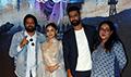 Alia Bhatt, Vicky Kaushal and Meghna Gulzar at Ae Watan song launch