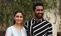 Alia Bhatt and Vicky Kaushal snapped during Raazi promotions