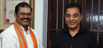 Arjun Sambath photos with Mr.Kamal Haasan