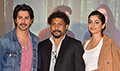 Banita Sandhu, Varun Dhawan and Shoojit Sircar grace the trailer launch of October
