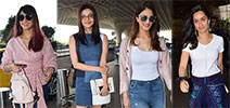 Ileana D'Cruz, Vaani Kapoor, Shraddha Kapoor and Kajal Aggarwal snapped at the airport