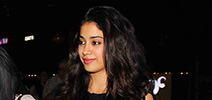 Janhvi Kapoor snapped post dinner with friends