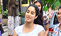 Janhvi Kapoor spotted at a clinic in Juhu
