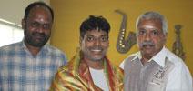 Jarugandi dubbing starts in Knack Studios