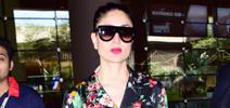 Kareena Kapoor returns back from Qatar