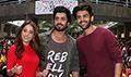 Kartik Aaryan, Sunny Singh Nijjar and Nushrat Bharucha spotted at Alegria College Fest, Panvel