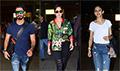 Katrina Kaif, Shahid Kapoor and Rakul Preet Singh snapped at the airport