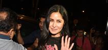 Katrina Kaif spotted at Bastian in bandra