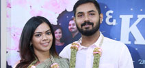 Keerthana & Akshay Special Reception for Media