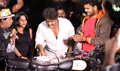 Mansoor Ali Khan Birthday Celebration at Kadaman Parai Movie Sets